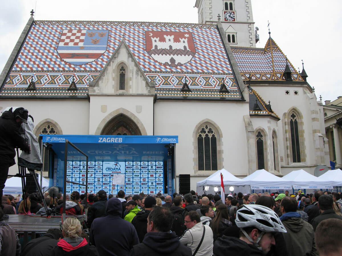 Sony Xperia Tour of Croatia Markov trg