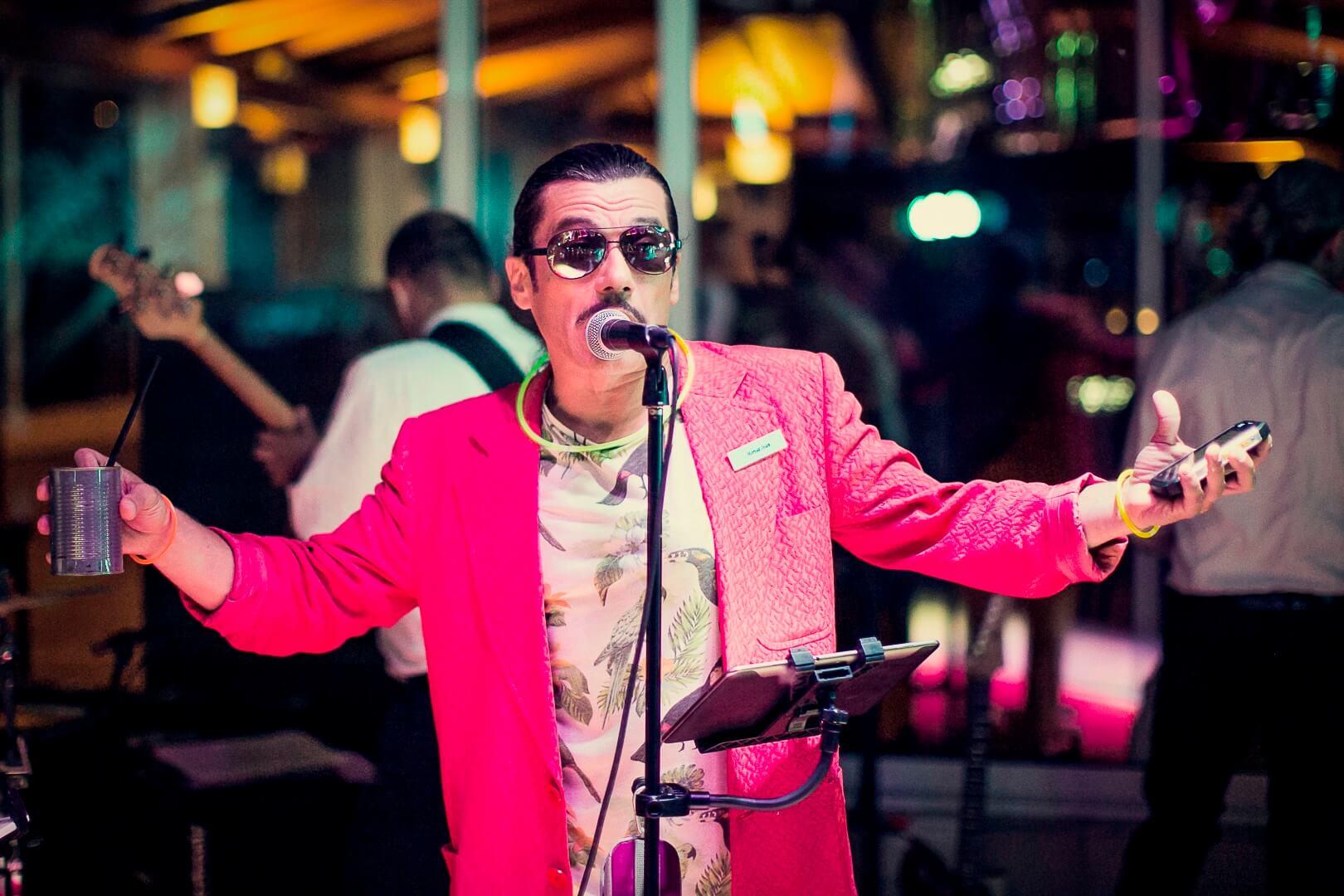 Miami Vice party event Mario Petreković