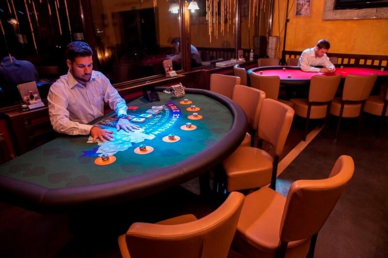 Prohibicija party event Black Jack i poker