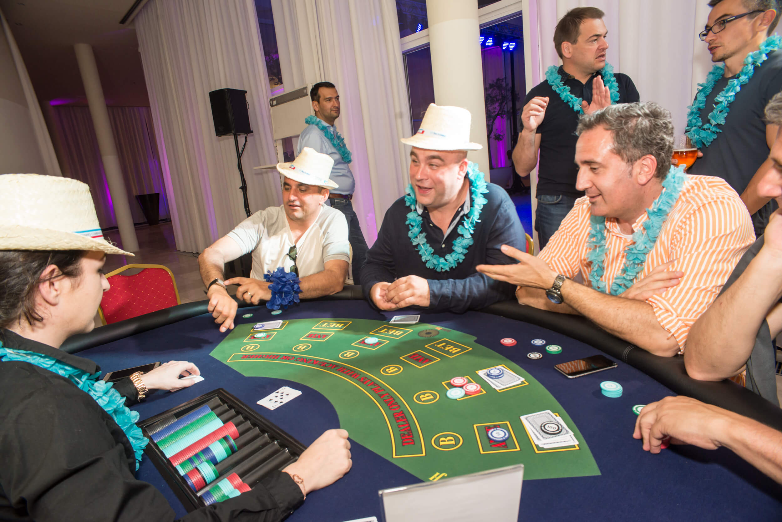 Cuba party event Caribbean poker