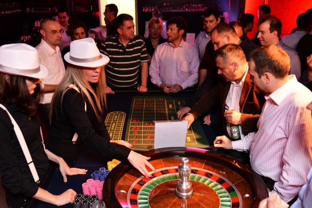 Prohibicija party event Roulette
