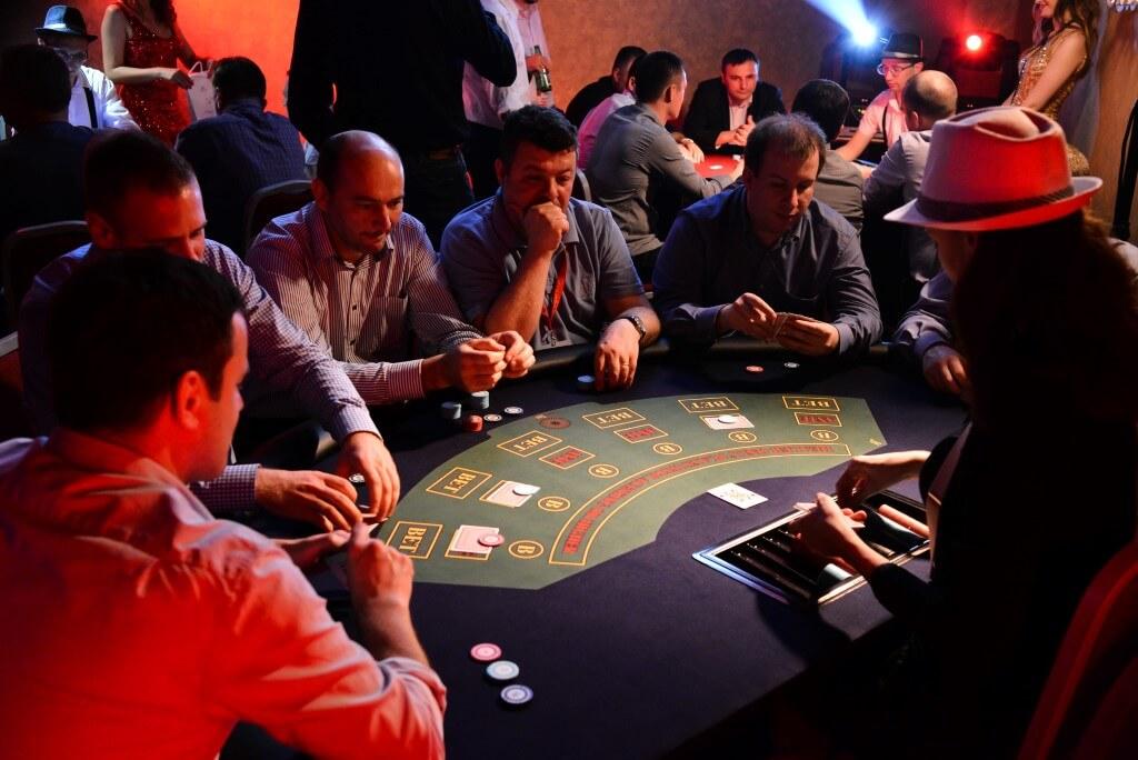 Prohibicija party event Caribbean poker