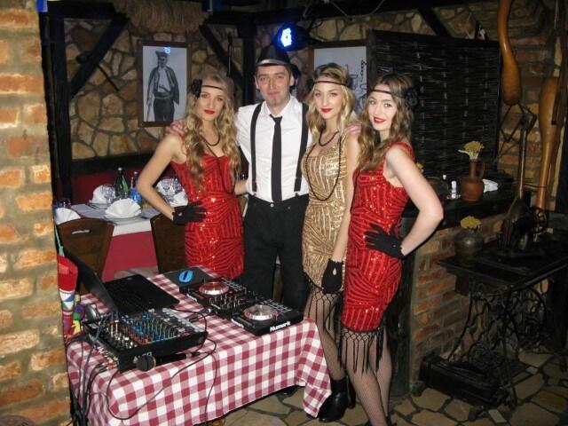Prohibicija party event hostese i DJ
