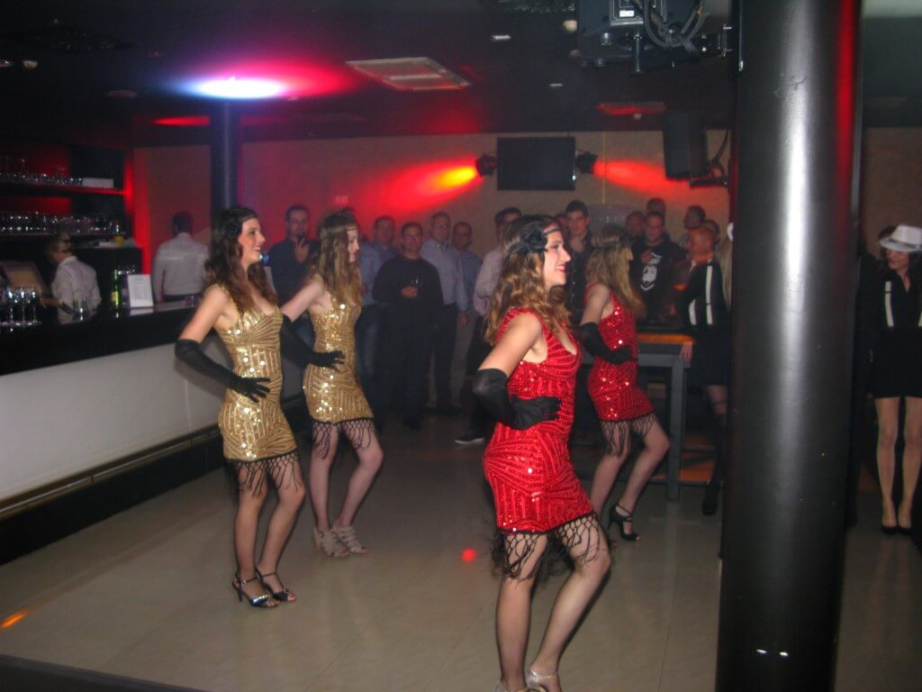 Prohibicija party event plesačice