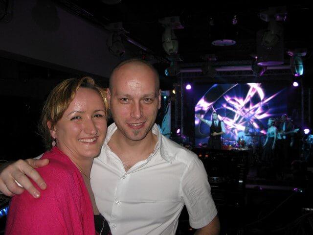 DJ E-Base i Jelena