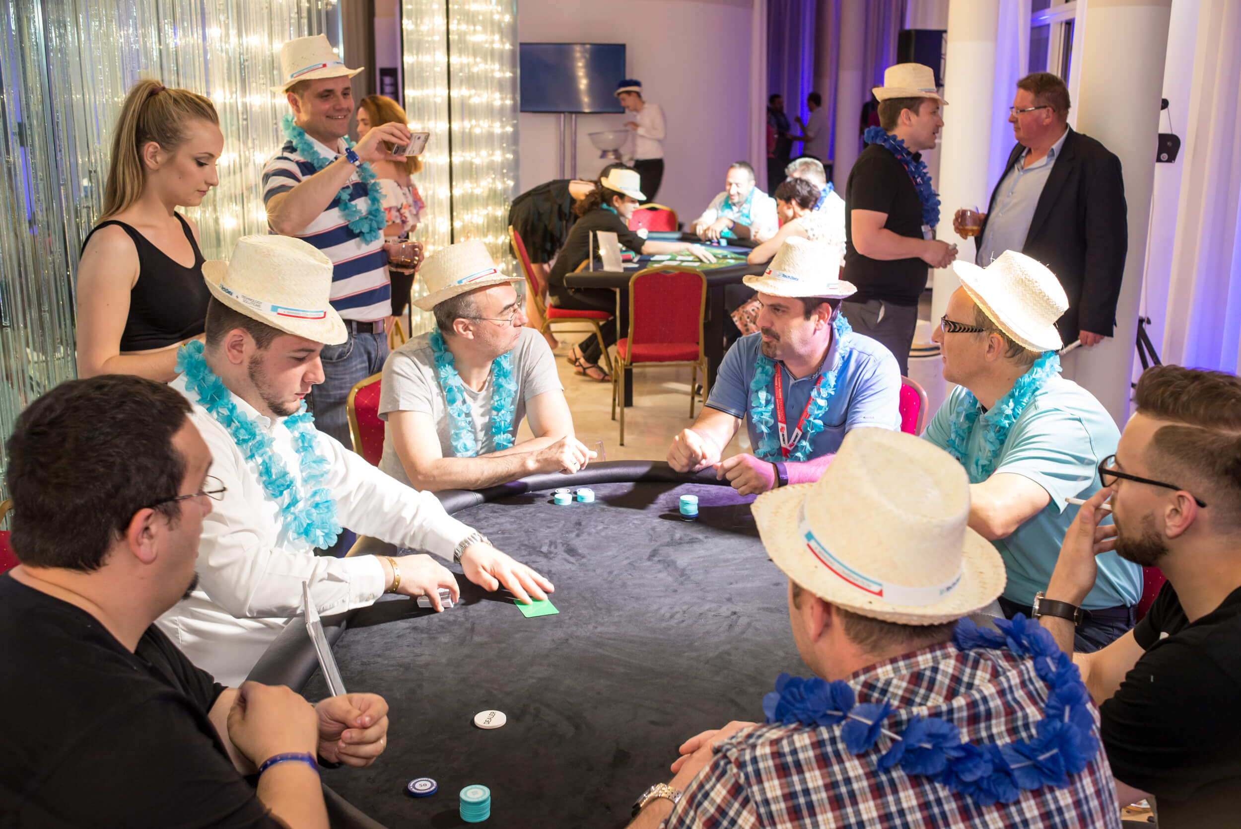 Cuba party event Texas Hold'em poker