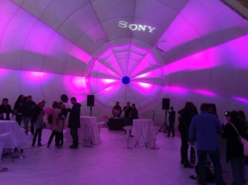 Sony prezentacija u balonu