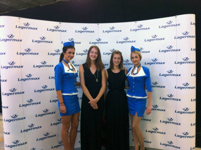 Lagermax event hostese