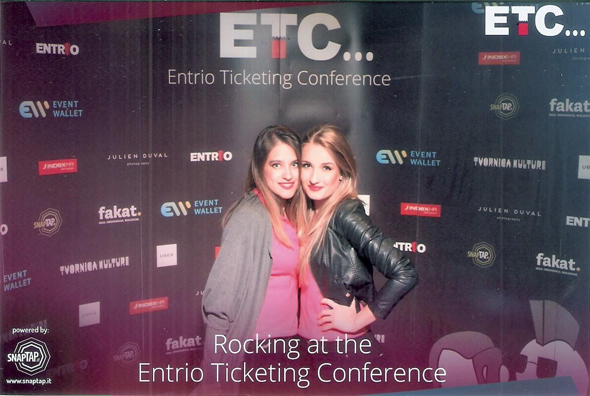 Entrio Ticketing Conference hostese