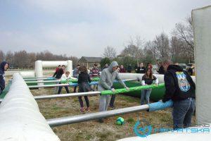 Team Building u Poreču - Ljudski stolni nogomet