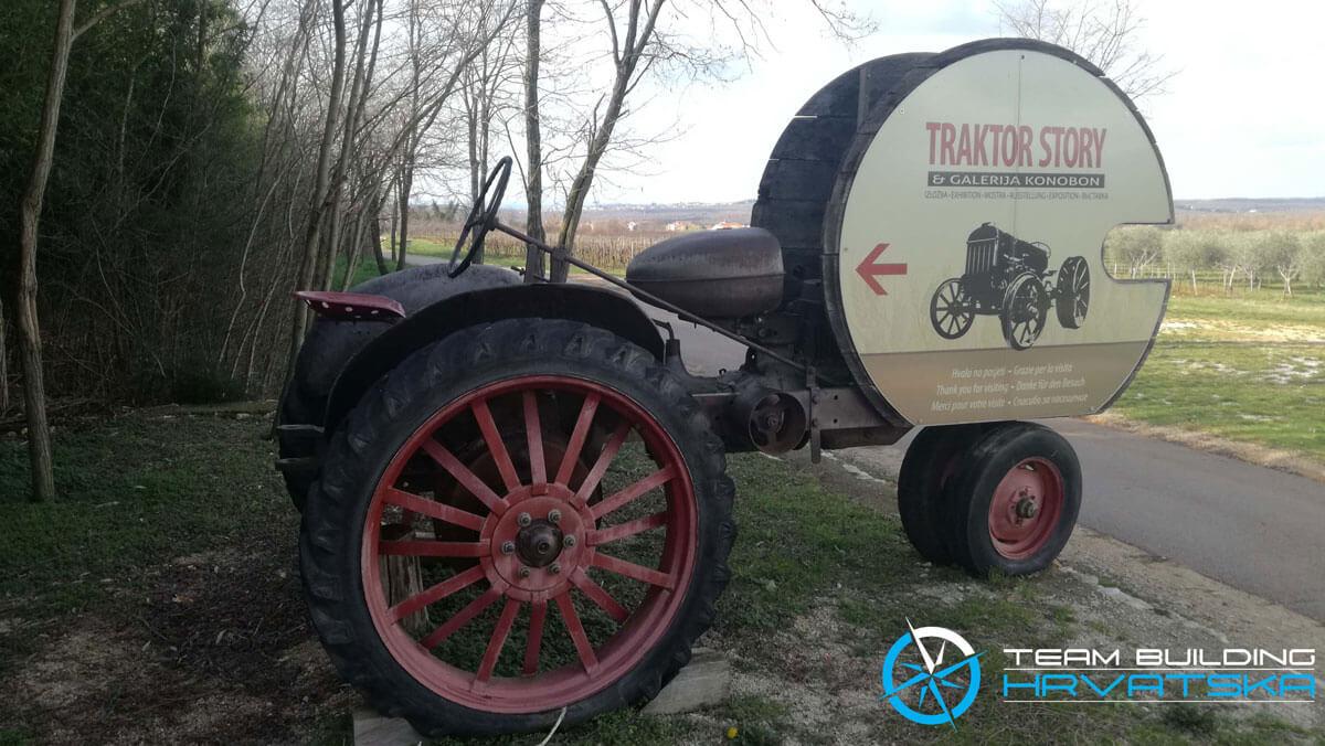Team Building u Poreču - Traktor Story